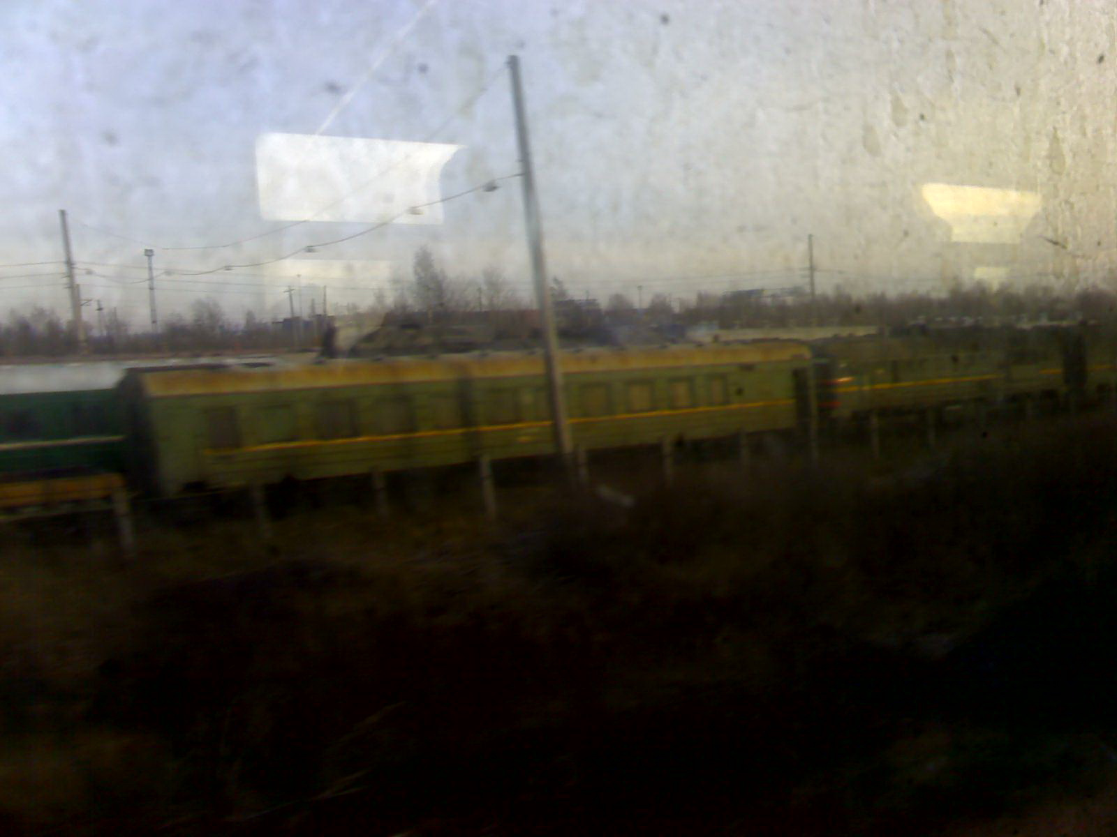 Пассажирский вагон.